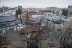 Cidade velha de Bucareste Imagens de Stock Royalty Free