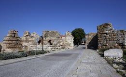 Cidade velha de Bulgária Nessebar Imagem de Stock Royalty Free