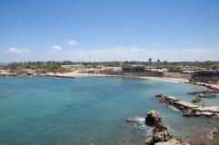 Cidade velha de Caesarea, Israel Imagem de Stock Royalty Free