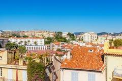 A cidade velha de Cannes, França Cote d'Azur Fotografia de Stock Royalty Free