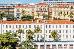 A cidade velha de Cannes, França Cote d'Azur Fotos de Stock