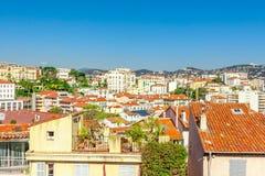 A cidade velha de Cannes, França Cote d'Azur Imagem de Stock