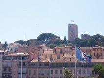 Cidade velha de Cannes - Suquet Fotografia de Stock Royalty Free