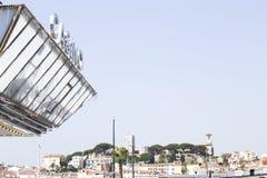 Cidade velha de Cannes foto de stock