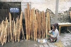 Cidade velha de Dali fotos de stock