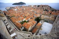Cidade velha de Dubrovnik Imagem de Stock
