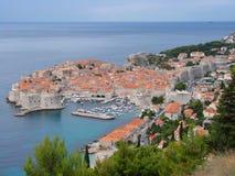 Cidade velha de Dubrovnik Imagens de Stock Royalty Free