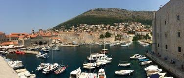 Cidade velha de Dubrovnik Imagem de Stock Royalty Free