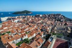 Cidade velha de Dubrovnik Fotos de Stock