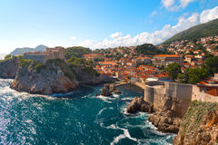 Cidade velha de Dubrovnik Fotos de Stock Royalty Free