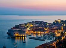 Cidade velha de Dubrovnik, Croácia Imagem de Stock Royalty Free