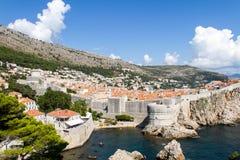 Cidade velha de Dubrovnik, Croatia Imagens de Stock Royalty Free