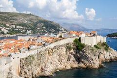 Cidade velha de Dubrovnik, Croatia Imagem de Stock Royalty Free
