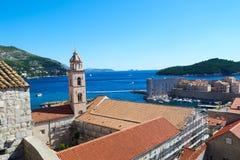 Cidade velha de Dubrovnik, Croatia fotos de stock royalty free