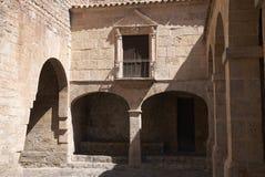 Cidade velha de Eivissa foto de stock royalty free