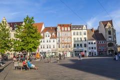 Cidade velha de Erfurt, Alemanha Imagens de Stock Royalty Free