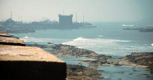 Cidade velha de Essaouira Fotografia de Stock