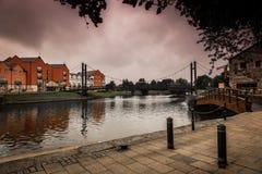 Cidade velha de Exeter Imagens de Stock Royalty Free