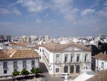 Cidade velha de Faro Vista panorâmico Fotografia de Stock Royalty Free