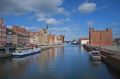 Cidade velha de Gdansk Fotos de Stock Royalty Free