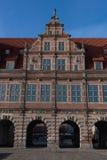 Cidade velha de Gdansk no Polônia Fotografia de Stock Royalty Free