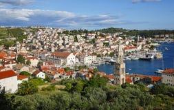 Cidade velha de Hvar Imagens de Stock Royalty Free