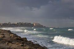 Cidade velha de Jaffa imagem de stock
