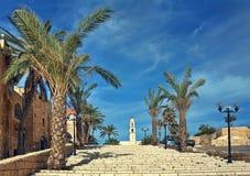 Cidade velha de Jaffa, Israel. fotografia de stock