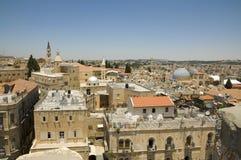 Cidade velha de Jerusalem Fotografia de Stock