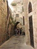 Cidade velha de Jerusalem Quarto judaico Fotografia de Stock Royalty Free