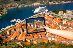 Cidade velha de Kotor Imagem de Stock