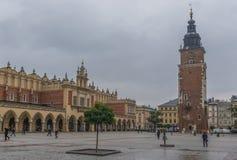 A cidade velha de Krakow, Polônia foto de stock