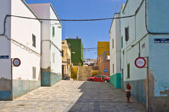 Cidade velha de Las Palmas Imagem de Stock Royalty Free