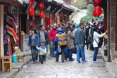 Cidade velha de Lijiang fotografia de stock