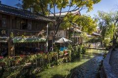 Cidade velha de Lijiang, cidade histórica, província de Yunnan, China foto de stock