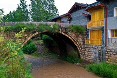 Cidade velha de Lijiang Shuhe Foto de Stock