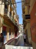 A cidade velha de Malaga Foto de Stock