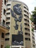 A cidade velha de Malaga Fotos de Stock Royalty Free