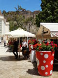 A cidade velha de Malaga Imagem de Stock Royalty Free