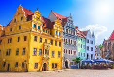 Cidade velha de Meissen fotos de stock royalty free