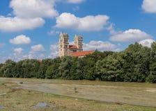 A cidade velha de Munich, um local do patrimônio mundial do Unesco fotos de stock royalty free