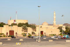 Cidade velha de Nizwa, sultanato de Omã fotografia de stock royalty free