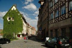 Cidade velha de Nuremberg Fotos de Stock