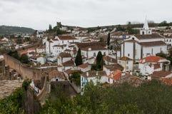 Cidade velha de Odidos em potugal Imagens de Stock Royalty Free