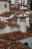 Cidade velha de Odidos em potugal Fotos de Stock