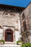 Cidade velha de Pacentro na região das montanhas de Abruzzo Imagens de Stock