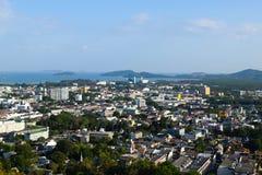 Cidade velha de Phuket fotos de stock