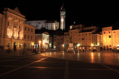 Cidade velha de Piran Imagem de Stock Royalty Free