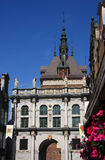 Cidade velha de Poland Gdansk - mercado longo Foto de Stock