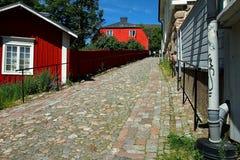 Cidade velha de Porvoo Fotografia de Stock